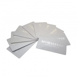MyoCards pack 10 pieces (color pearl white)
