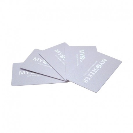 MyoCards pack 5 pieces (color pearl white)