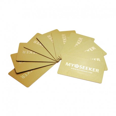 MyoCards pack 10 pieces (color gold)